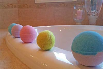 Bath Bomb Sizing